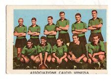 FIGURINA CARTONATA  CALCIATORI  RASA  1961-62  SQUADRA  DEL  VENEZIA