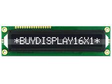 3.3V Negative Black 16x1 Big Character LCD Module Display w/Tutorial,HD44780