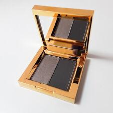 MAC Prabal Gurung Eyeshadow Duo x2 Cinder High Pigment Powder New Gold Box Gray