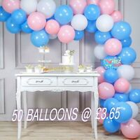 """Pack of 10-100 Pastel Latex Balloons Macaron Candy Many Colour 5-10"""" Balon Party"""