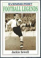 NOTTINGHAM EVENING POST FOOTBALL LEGEND CARD-NOTTS COUNTY-JACKIE SEWELL