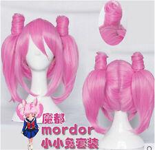 Sailor Moon Crystal Chibi Usa Tsukino Usagi Small Lady Serenity Cosplay Wig Hair