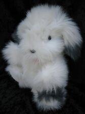 Chosun Gray White Fluffy Sheepdog Plush Hand Puppet Stage Pretend Play Preschool