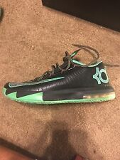 "Nike KD VI ""Brazil"" Size 9 Black Green Orange"