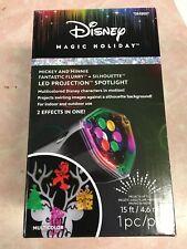 Disney Mickey and Minnie Fantastic Flurry Projection Spotlight Magic Holiday