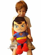 "Enorme Gigante Extra Large DC Comics Superman Peluche Giocattolo morbido 20"""