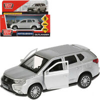 Mitsubishi Outlander Silver Colored Diecast Model Toy Car Scale 1:36