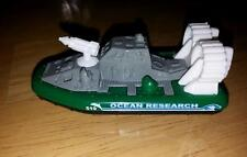 New Loose Matchbox Green & White Hovercraft Ocean Research Raft Boat