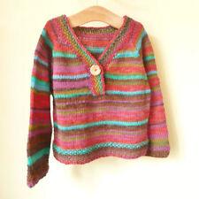 Girls DK/Double Knit Sweaters Patterns