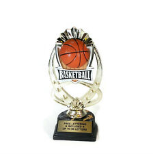 Basketball Riser Trophy- Recognition- MVP- Coach- Desktop Series- Free Wording