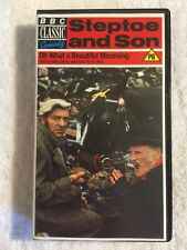 BBC Classic Steptoe and Son (Prev. Viewed VHS) Oh What A Beautiful Mourning RARE