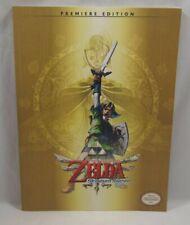 Legend Of Zelda SKYWARD SWORD Premier Ed Wii NEW! Prima Strategy Guide w/ POSTER