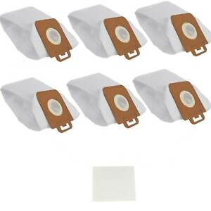 6X Synthetic Dust Bags For Nilfisk Power Series P10 P20 P40 SELECT COMFORT PET
