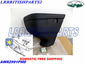 GENUINE LAND ROVER BUMPER FRONT END CAP DISCOVERY I 1 LH NEW AWR2991PMD