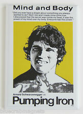 Pumping Iron FRIDGE MAGNET (2 x 3 inches) movie poster weight lifting