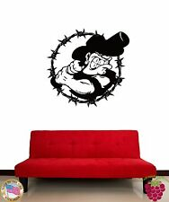 Wall Sticker Baseball Cowboy Sport Cool Funny Decor For Your Place z1455
