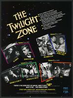 THE TWILIGHT ZONE Series__Original 1990 Trade print AD promo__ROD SERLING__TOS