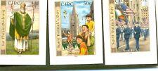 Irlanda-San Patrizio Autoadesivo Set 2003 MNH (1574/6)