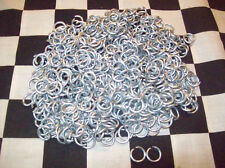 10 # 14g STEEL JUMP RINGS CHAINMAIL CHAIN MAIL CRAFTS shirt jewelry battle armor
