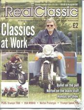 TRIUMPH SPEED TWIN REBUILD - 2 issues of REAL CLASSIC