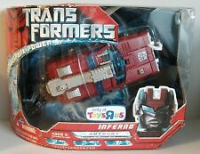 Transformers The Movie 2007 Voyager Class Autobot Inferno MISB