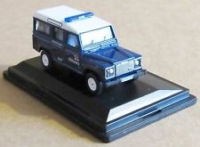 Oxford pressofusione LAND ROVER DEFENDER Station Wagon RNLI 1:76 Scala scialuppe di salvataggio auto