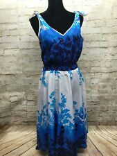 Royal Creations Hawaii Women's Floral Print Dress Made In Hawaii Size Small GUC