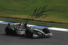 ANDRE Lotterer firmato F1 JAGUAR R2 test Driver SILVERSTONE 2001