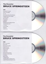 Bruce Springsteen - The Essential - Scarce UK/European 30 track promo 2CD set