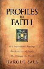 Profiles in Faith: Inspirational Readings Based on Lives of People Who Changed t