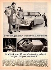 1966 CHEVROLET CORVAIR  ~  ORIGINAL PRINT AD
