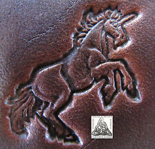 """Discontinued Craftool Co. USA Rearing Unicorn 1"""" Leather Stamp Tool 8334"""