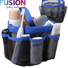 Shower Caddy Bath Mesh Pockets Portable Tote Organizer Storage Pouch Bag New