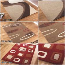 Rectangle Acrylic Abstract Rugs