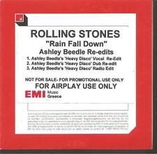 "ROLLING STONES ""Rain Fall Down"" 3 Track Greek Acetate Promo CD"