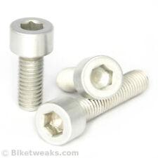100 pieces Aluminum M6 x 30mm bolt. 6061 Aluminium