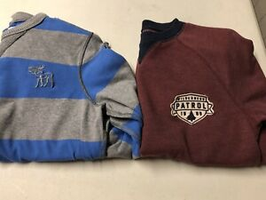 Boys 10-12 Sweater Lot Abercrombie Muscle