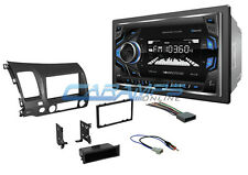 NEW 06-11 CIVIC SOUNDSTREAM STEREO RADIO GRAY DASH W/ BLUETOOTH AUX NO CD PLAYER