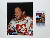Tony Stewart Racing NASCAR Home Depot Signed 8x10 Photo Autographed JSA COA