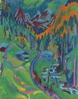Ernst Ludwig Kirchner Sertigweg In The Summer Canvas Print 16 x 20   # 9178