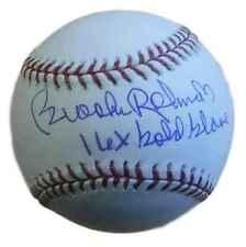 Brooks Robinson Autographed Baltimore Orioles OML Baseball 16x GG JSA 12925
