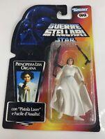 Princess Leia Organa Italian Guerre Stellari GIG Star Wars POTF2 Red Card - RARE