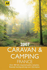 Good, AA Caravan and Camping France 2007 (AA Lifestyle Guides), , Book