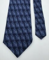 Blue Protocol Design Classy Stylish Fashion 100% Silk Men's Neck Tie