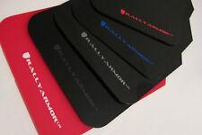 Rally Armor 2010 -2013 Mazdaspeed 3 & Mazda 3 UR Black Mud Flaps Kit SILVER Logo