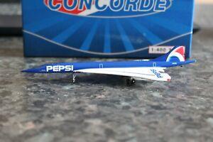 Phoenix 1:400 Air France Pepsi BAC Concorde (Gemini Jets)