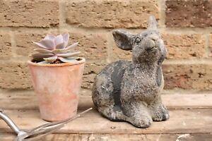 Vintage Style Rabbit Statue. Decorative Garden Allotment. NEW