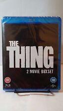The Thing Double Film Pack (Original Kurt Russell 1982 + 2011)Blu-ray Boxset-NEW