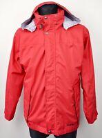 SCHOFFEL Venturi Men's Small Jacket Red Outdoor Hiking Waterproof Windbreaker S