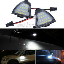 2x Error Free LED Side Mirror Puddle Light VW Golf 5 Mk5 MkV Passat B6 Jetta Eos